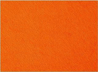 Craft Felt, sheet 42x60 cm, thickness 3 mm, orange, 1sheet