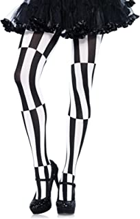Women's Optical Illusion Harlequin Tights Costume Accessory