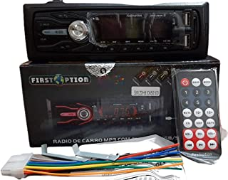 Rádio automotivo 7 Cores Bluetooth Usb Sd Aux Card MP3