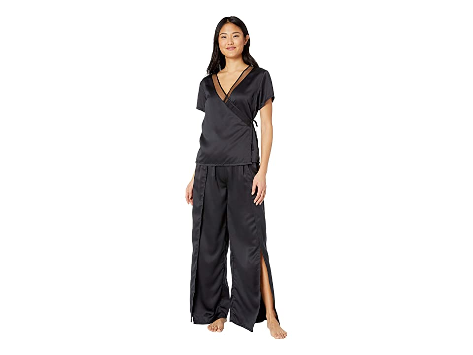 BLUEBELLA Adeline Shirt and Split Trousers Set (Black) Women