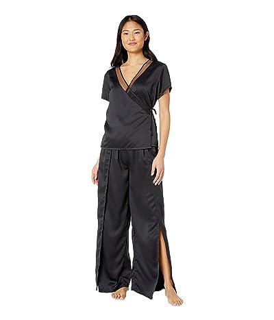 BLUEBELLA Adeline Shirt and Split Trousers Set (Black) Women
