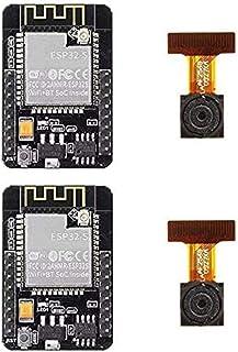 ZHITING 2Pcs ESP32-CAM WiFi Bluetooth Camera Module Development Board ESP32 with Camera Module OV2640