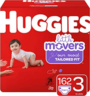 Best huggies little movers size 4 152 count Reviews