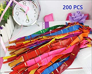 king's store 200 PCS Toy Rocket Balloons Long Balloon Flight of Giant Rocket Balloons to Whistle (Free of Charge Pump)