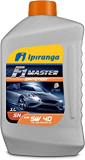 Óleo Lubrificante Sintético 5w40 SN (VW 508.88-509.99) - Ipiranga F1 Master Sintético (1 litro)