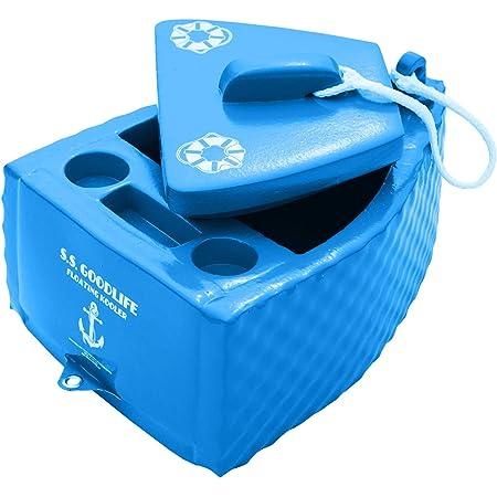 TRC Recreation Super Soft Floating Cooler - Bahama Blue