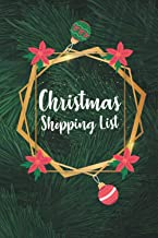 Christmas Shopping List: Holiday shopping list organizer 2020 | gift for the christmas