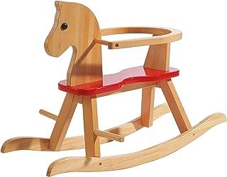 Caballo de balancín roba, juguete balancin acabado en