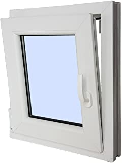 Ventana PVC Practicable Oscilobatiente Izquierda 500 ancho x