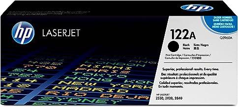 HP 122A - Cartucho de tóner original LaserJet para Laserjet series 2550, 2820 y 2840, color negro