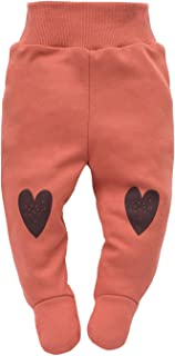 Wild Animals Sleepers 100/% Cotone con Piedi Rosa Blu Grigio Cintura Elastica 68 62 Baby Pantaloni//Pagliaccetti Pattern Bambini con Animali Pinokio 56