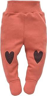 Leggings M/ädchen Hose mit Elastischer Bund Baby Kinder Girls 95/% Baumwolle Jogginghose Haremshose Braun Rot Rosa 56-92 cm Pinokio Little Bird