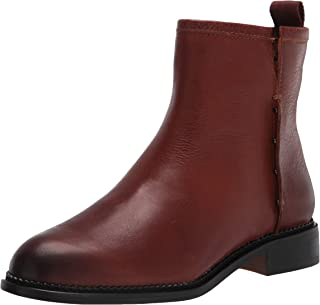 Franco Sarto womens Hixton Ankle Boot, Cognac, 7 Wide US