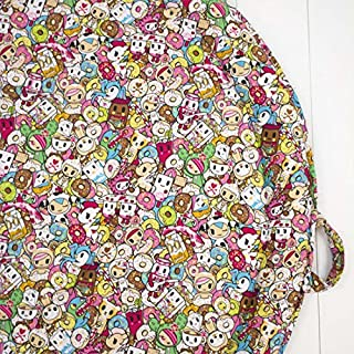 Bebe Au Lait Cotton Padded Portable Baby Roundabout Play Mat, Tokipops