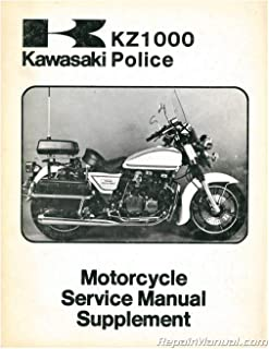 U99963-0012-01-1 USED 1979 Kawasaki KZ1000 B3 LTD Motorcycle Service Manual Supplement