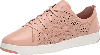 Cole Haan Women's GRNDPRO TNNIS LSRCUT: حذاء رياضي Mahogany Opt ، MAHOGANY ROSE/MAHOGANY ROSE/OPTIC أبيض