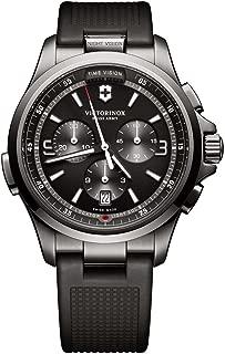 Men's Night Vision Analog Display Swiss Quartz Watch