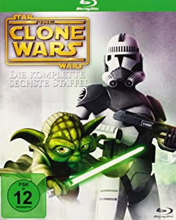 Star Wars - The Clone Wars - Staffel 6 [Alemania] [Blu-ray]