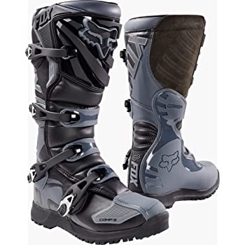 Fox Racing Sports Mens Off-Road Motorcycle Boots Black//Size 12