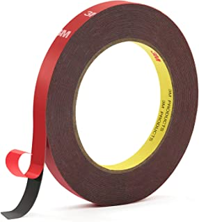 Double Sided Tape, HitLights Heavy Duty Mounting Tape 3M VHB Waterproof Foam Tape, 32ft Length, 0.39Inch Width for LED Strip Lights, Home Decor, Office Decor