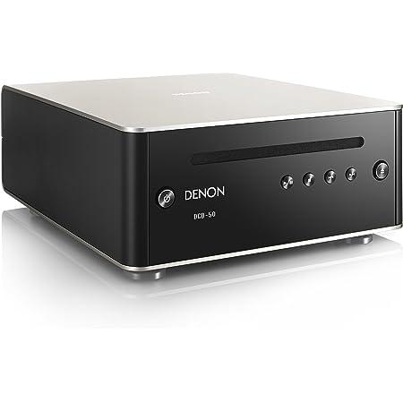 デノン Denon DCD-50 CDプレーヤー D/Aコンバーター搭載 MP3/WMAファイル再生対応 プレミアムシルバー DCD-50SP