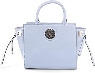 Guess Satchels Bags for Women, Sky Blue