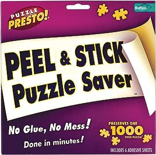usongs Buffalo Games Puzzle Presto Peel & Stick Puzzle Saver - NO Glue, NO Mess #9202
