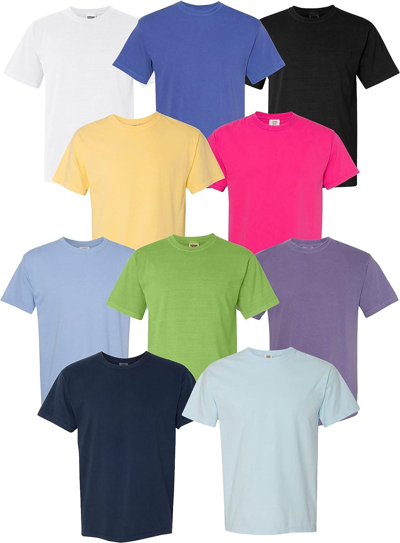キャンペーンもお見逃しなく Multipack Bundle Comfort Colors Heavyweight Cotton Dyed Garment お見舞い