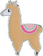 Pin Pushers Llama Enamel Lapel Pin Brooch