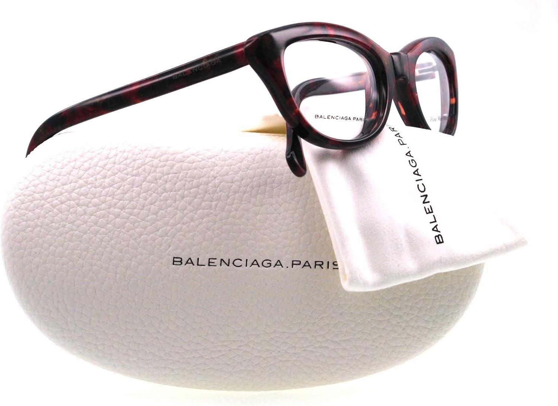 Eyeglasses Balenciaga 0115 0V9S Bordeaux