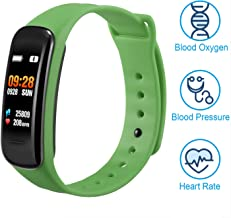 VXDOIRK Fitness Tracker, Color Screen Activity Tracker Heart Rate Monitor Watch, IP67 Waterproof Fitness Watch with Calorie Counter Pedometer Sleep Blood Pressure Monitor for Kids Women Man