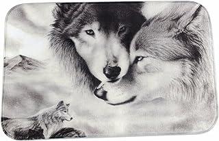 eaa50b3071d8 A.Monamour Imagen En Blanco Y Negro Parejas De Lobo Amante De Los Animales  Tema