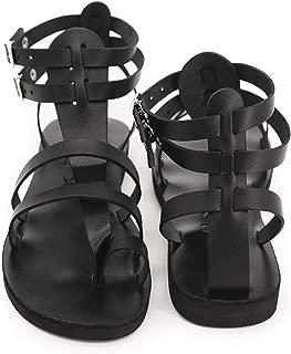 Men Leather Sandals Gladiator Thong Spartan Handmade Sandals - Fascination Men