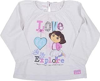 Dora The Explorer Love to Explore Long Sleeve Toddler Tee