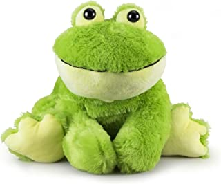 Gitzy Sitting Frog - Colorful Easter Stuffed Animal for Kids - 26 Inch Plush Frog