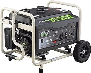 Pulsar PG4500B 4500W Peak 3500W Rated Portable Dual Fuel Generator (Gas and LPG)