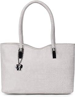 Butterflies Women's Stylish Handbags (Cream) (BNS 0737CRM)