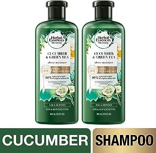Herbal Essences, Shampoo, BioRenew Cucumber & Green Tea, 13.5 fl oz, Twin Pack