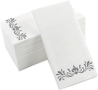 Wedding Monogram Guest Towels Monogrammed Napkins Restroom Napkins Event Guest Towel 4.25 x 8.0\u201d Weddings Custom Logo 1626 3 Ply