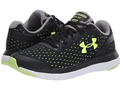 Under Armour Kids Charged Impulse (Big Kid) (Black/White/X-Ray) Boys Shoes