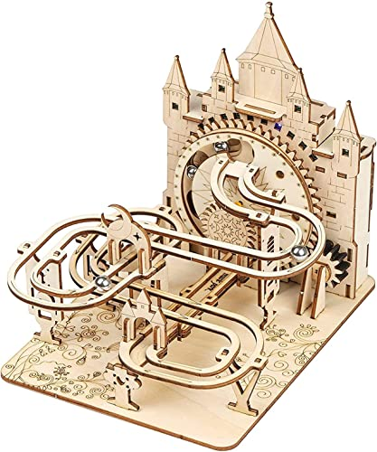 lowest Music Park 3D Wooden online sale Puzzles for Adults & Teenagers Machine Marble Run Wood Model Building Kits Science Educational Toys for Kids new arrival Gift Age14+ outlet online sale