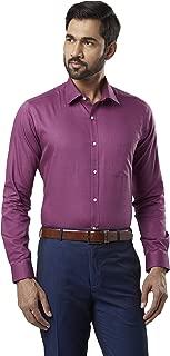Raymond Violet Slim Fit Cotton Shirt