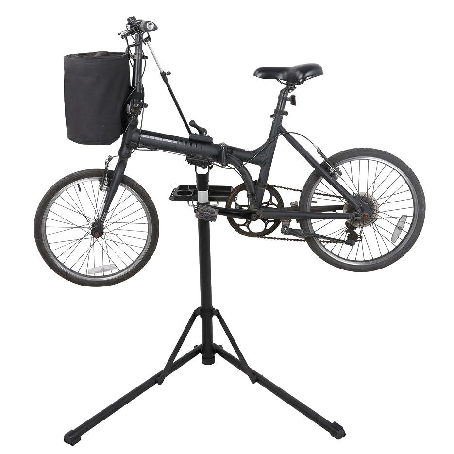 該当するボイコットプーノHomGarden プロ メカニック 自転車修理 ワークショップスタンド メンテナンスラック 折りたたみ式 自転車修理スタンド 高さ調整可能 39.4~62.6インチ ツールトレイ&伸縮アームサイクル