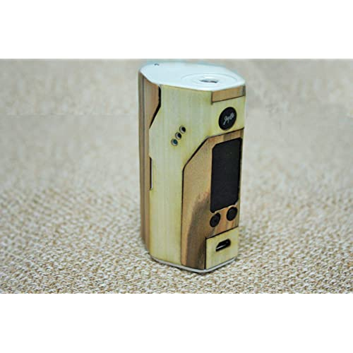 iZumi Supply Real Wood Wrap Skin Case For Wismec Reuleaux RX200S - Applewood/Maplewood (