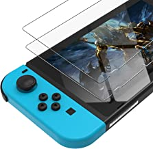 UNBREAKcable Nintendo Switch Screen Protector [2-Pack, 0.3mm, 9H Hardness] Premium Tempered Glass Screen Protector for Nintendo Switch 2017 [36-Month Warranty]