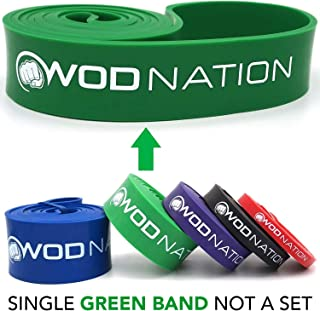 WOD Nation Pull up Assistance Bands Best for Pullup Assist, Chin Ups, Resistance Band..