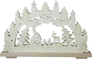 SchwibboLa SB 1–70 erzgebirgischer Double Arche Lumineux avec Certification SB 1–70 50 x 30 cm