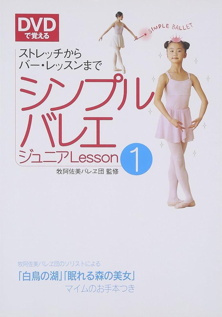 マディソン遊具剣DVDで覚えるシンプルバレエジュニア〈Lesson1〉ストレッチからバー?レッスンまで