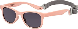 COCOSAND Kids Boys Girls Toddler Sunglasses with strap TPE Flexible Frame UV400 Protection Age 2-6