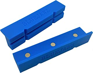High Temperature Vise Soft Jaws (GROOVED) Multi-Purpose, Flexible, Part Forming